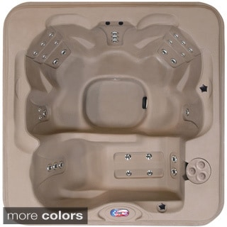 6-person 30-jet Lounger Spa with Easy Plug-N-Play and Two Port LED Waterfalls
