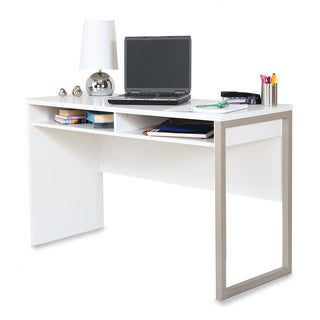 Interface White Wooden Desk