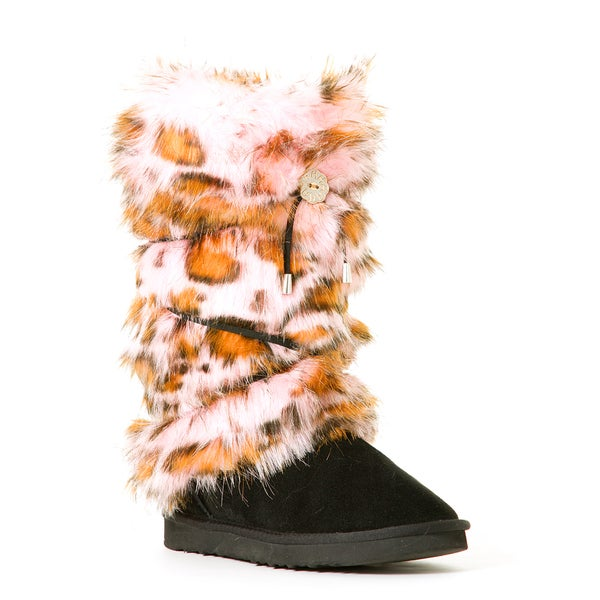 Hugrz Pink Panther Pattern Boot Wraps