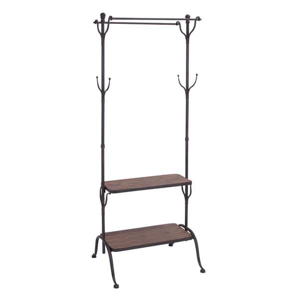 Metal/ wood Clothes Rack