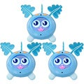 Fijit Friends Yippits Scooch Figure (Pack of 3)