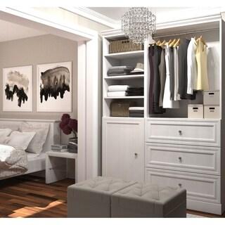 Versatile by Bestar 61-inch Classic Closet Storage Kit