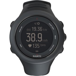 Suunto Ambit3 Black Sport GPS Multifunction Digital Watch