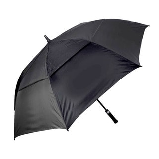 Affinity Cyclone Double Canopy Black Golf Umbrella