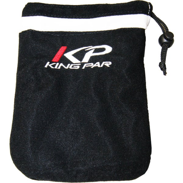 King Par Lined Valuables Golf Ball Bag Pouch