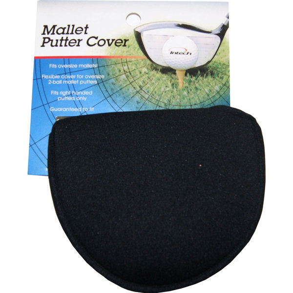 Intech Golf Mallet Putter Black Headcover