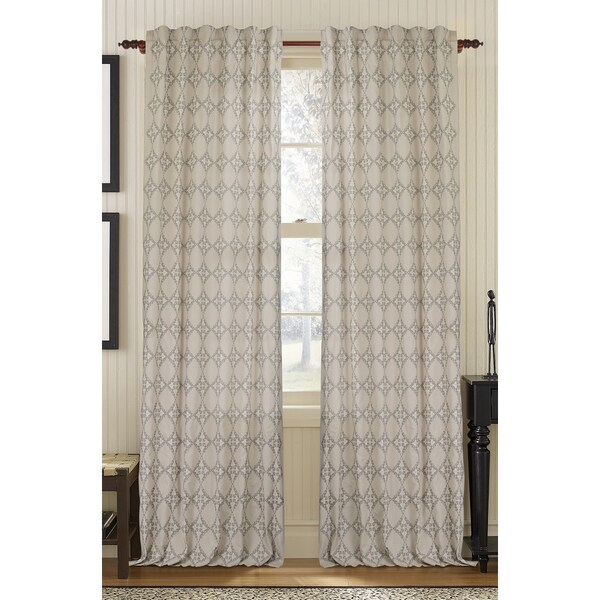 Exotic Embroidered Curtain Panel 14611873