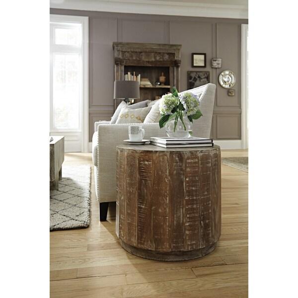 Lovely ... Hamshire Wooden Barrel Coffee Table ...