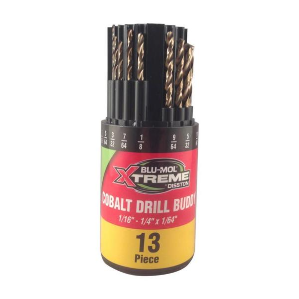 Disston Tool Xtreme Cobalt Drill Bits 13-piece Set