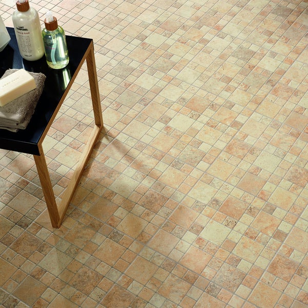 SomerTile 12.25x12.25-inch Folio Por Beige Porcelain Floor and Wall Tile (Case of 15)