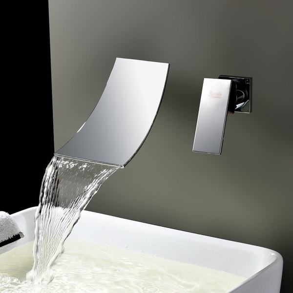 Kokols Chrome Wall Mount Waterfall Tub Faucet 16898044