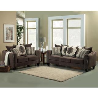 Sonar Sofa and Loveseat Set