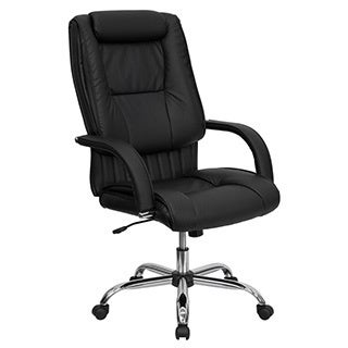 Offex High Back Black Leather Executive Office Chair