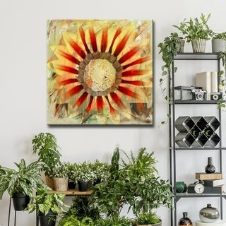 Ready2HangArt 'Painted Petals XXXXV' Floral Canvas Wall Art