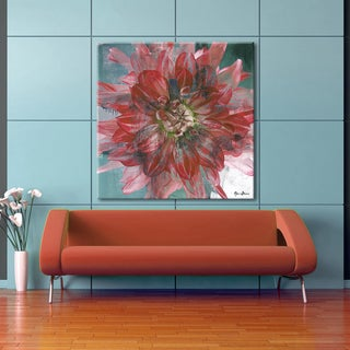 Ready2HangArt 'Painted Petals XXXI' Floral Canvas Wall Art