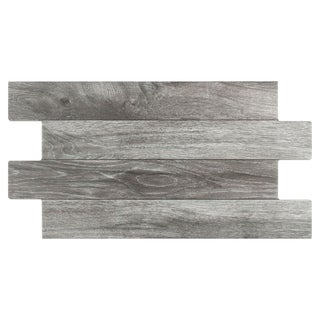 SomerTile 12.25x23.625-inch Moscu Cendre Porcelain Floor Tile (Case of 8)