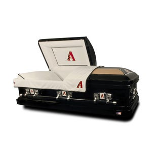 Official Major League National League Baseball Casket