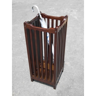 D-Art Hand-crafted Visalia Umbrella Stand, Handmade in Indonesia