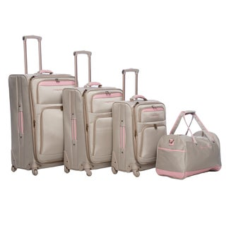 Tommy Bahama Mama 4-piece Spinner Luggage Set
