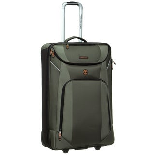 Timberland Great Meadow 29-inch Large Expandable Rolling Upright Suitcase