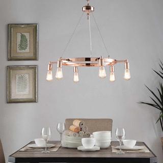 Rae 6-light Copper Chandelier
