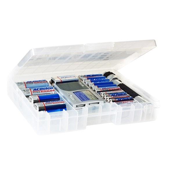 ACDelco AM/FM Radio Emergency Preparedness Kit with 25 Super Alkaline Batteries and Flashlight