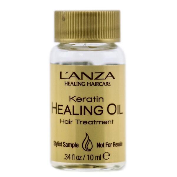 Lanza Healing Oil .34-ounce Hair Treatment