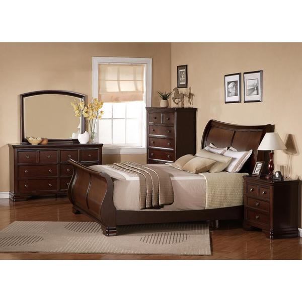 The Wilmington Queen 5-piece Platform Bedroom Set