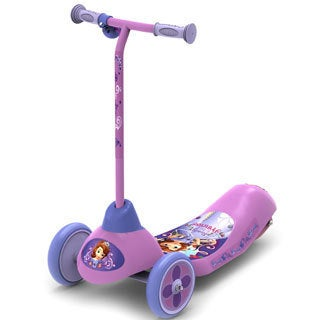 Disney Sofia the First Safe Start 3-wheel Electric Scooter