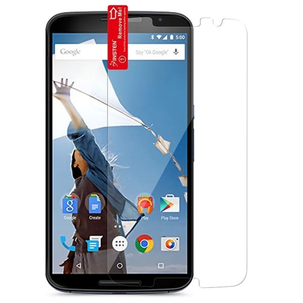 INSTEN Clear Screen Protector For Motorola Google Nexus 6