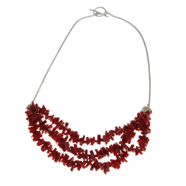Michael Valitutti Coral Necklace