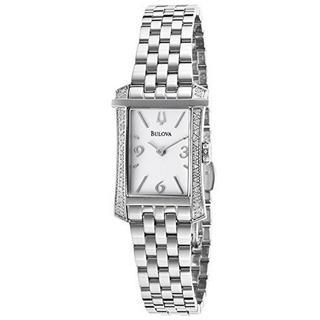 Bulova Women's 96R186 Stainless Steel Diamond Accent Watch