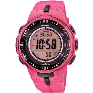 Casio G-Shock PRW3000-4B Men's Digital Sporty Pink Resin Watch