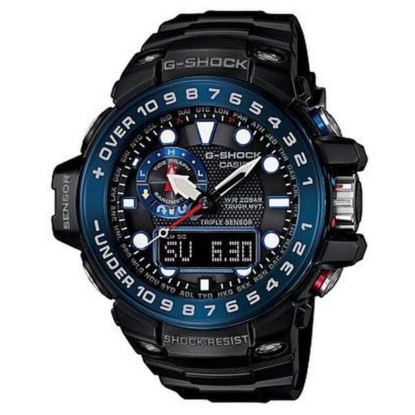 Casio G-Shock GWN1000B-1B Men's Analog-Digital Black Resin Watch