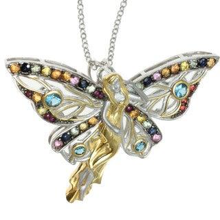 Michael Valitutti Multi Gemstone 'Fairy' Pendant