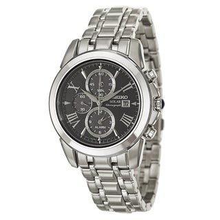 Seiko Men's SSC193 Le Grand Sport Stainless Steel Solar Powered Quartz Watch