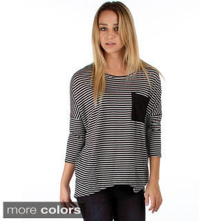 Lyss Loo Striped Dolman with Pocket