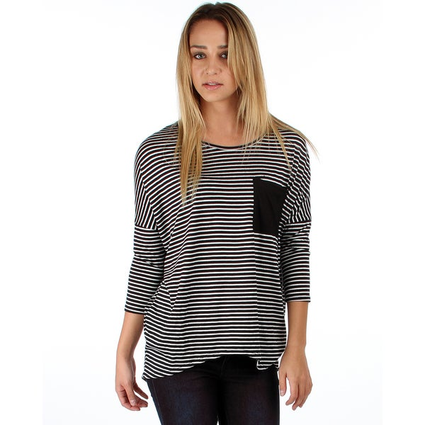 Lyss Loo Striped Dolman with Pocket 14618487