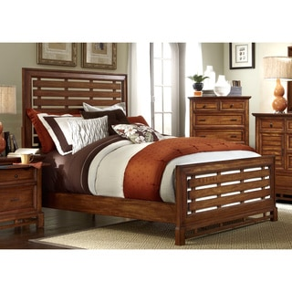 Catalina Toffee Slat Bed