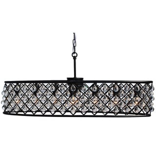 Cassiel Oil Rubbed Bronze Retangular Oval Chandelier