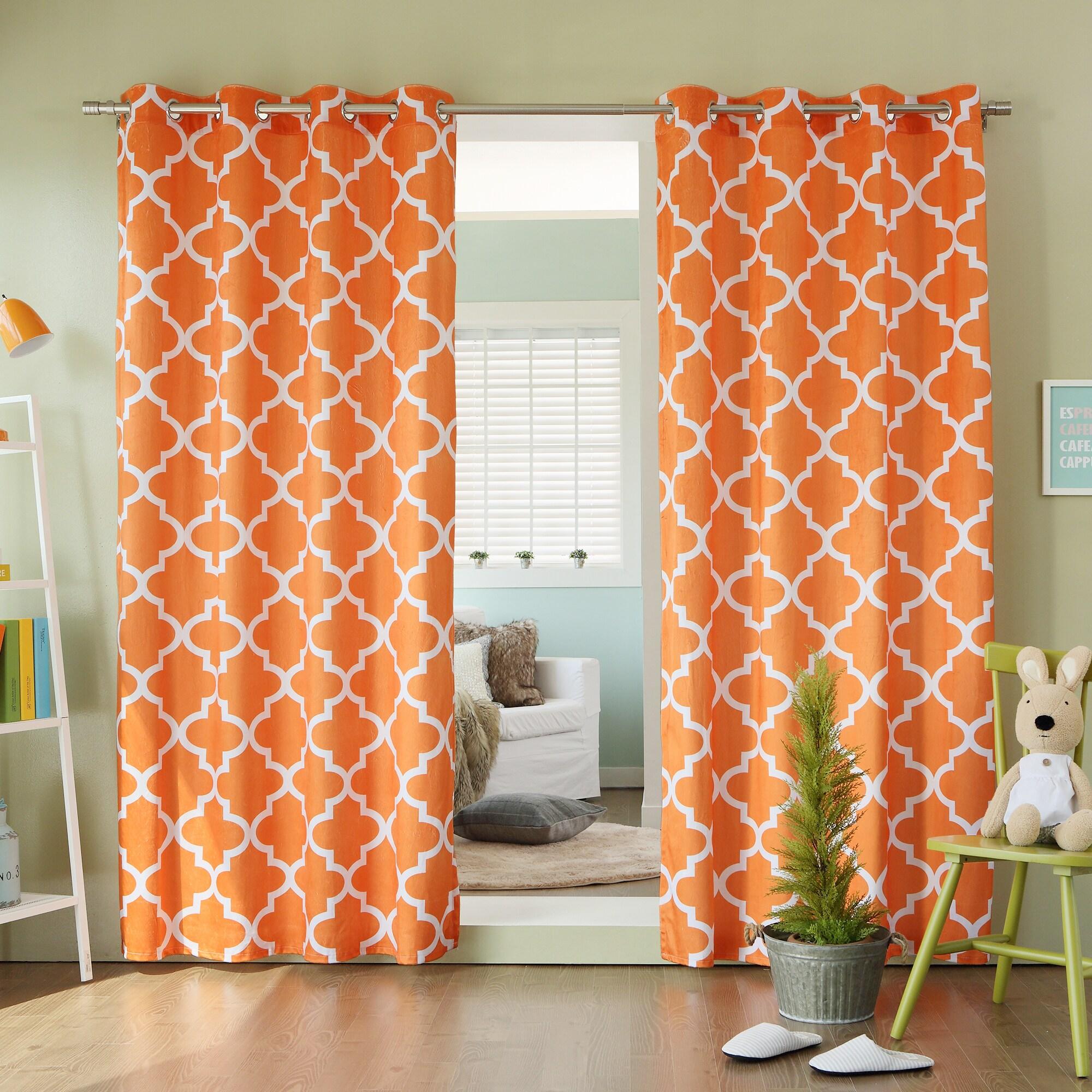 Print curtains