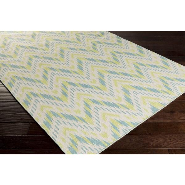 Hand-tufted Liv Abstarct New Zealand Wool Rug (2' x 3')