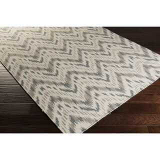Country Living Hand-woven Lia Reversible Chevron Wool Rug (2' x 3')