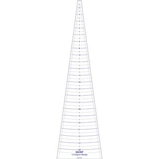 """Circle Wedge-15 Degrees 24"""" Long W/1"""" Measuring"""