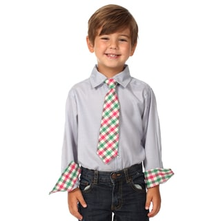 Future Trillionaire, Boys, Cotton, Shirt and Tie Set