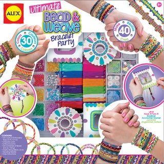 Ultimate Bead & Weave Bracelet Party Kit-