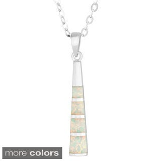 La Preciosa Sterling Silver Opal Pendant