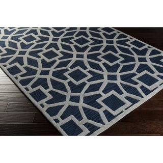 Hand-Tufted McKernan Contemporary New Zealand Wool Rug (9' x 13')