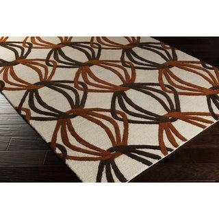 Hand-Tufted Mydland Contemporary New Zealand Wool Rug (9' x 13')