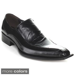 Unique Men's 'G370-12' Two-texture Dressy Loafers